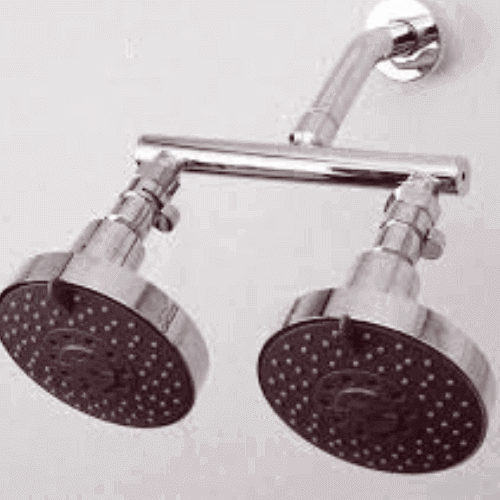 Attached Dual Shower Head