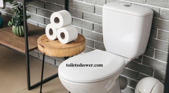 rear discharge toilet installation