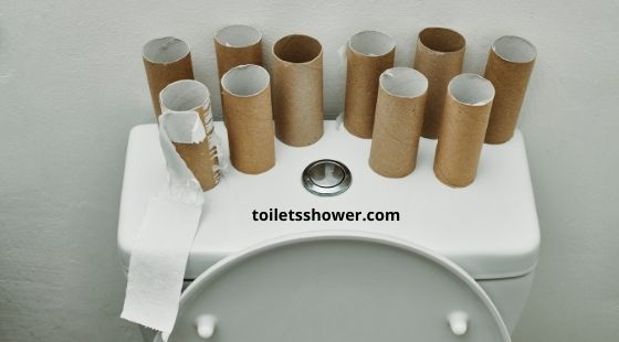 Causes the toilet to flush twice or three times