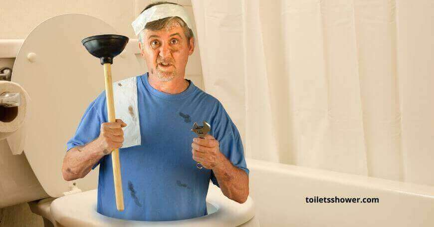 How to Flush a Toilet without Running Water